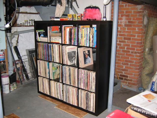 Ikea Hochbett Tromsö Wackelt ~ ikea expedit with records!  IKEA expidit  Pinterest