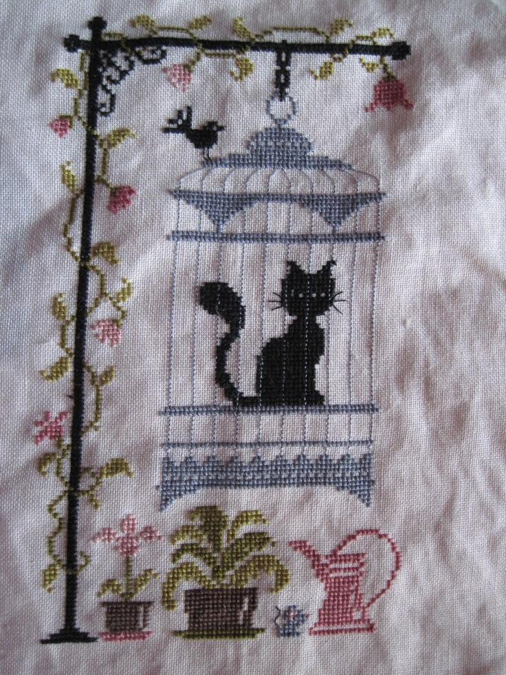 Jardin prive 39 my cross stitch pinterest for Jardin prive