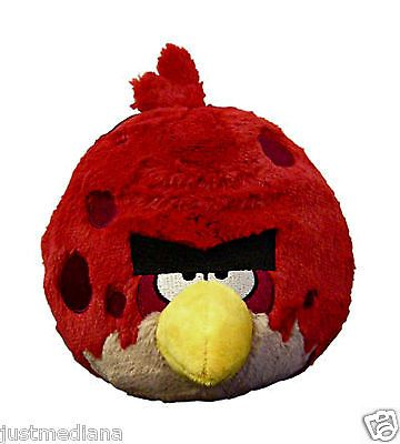 Angry Birds 8 Inch Red Plush Big Bro With Sound
