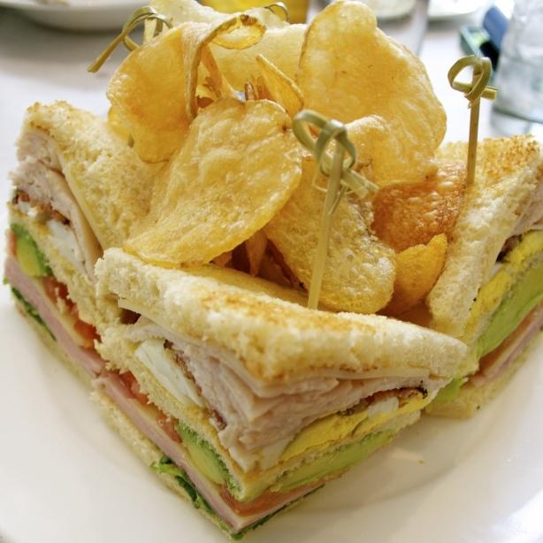 Club house sandwich http://esnobgourmet.com/2012/03/22/club-house ...