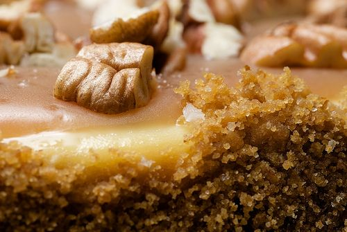 Pecan and Salted Caramel Cheesecake by bakeorbreak, via Flickr