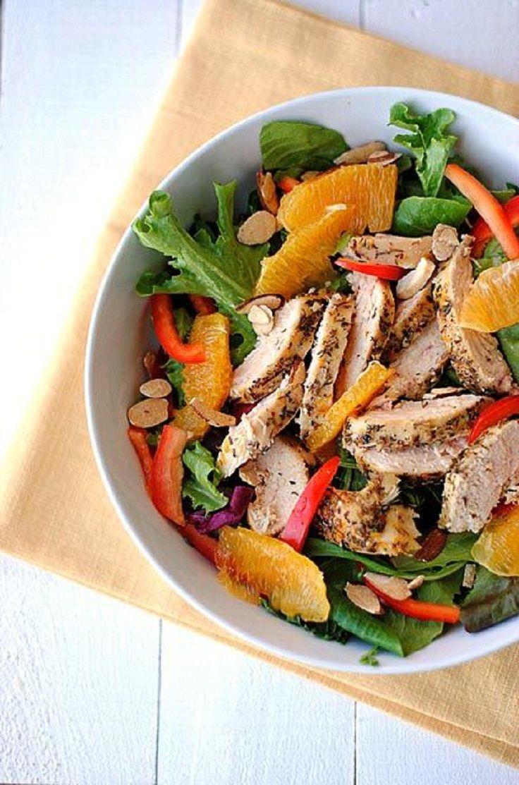 Grilled Honey-Orange Chicken Salad...15 SUPER HEALTHY AND FRESH ...