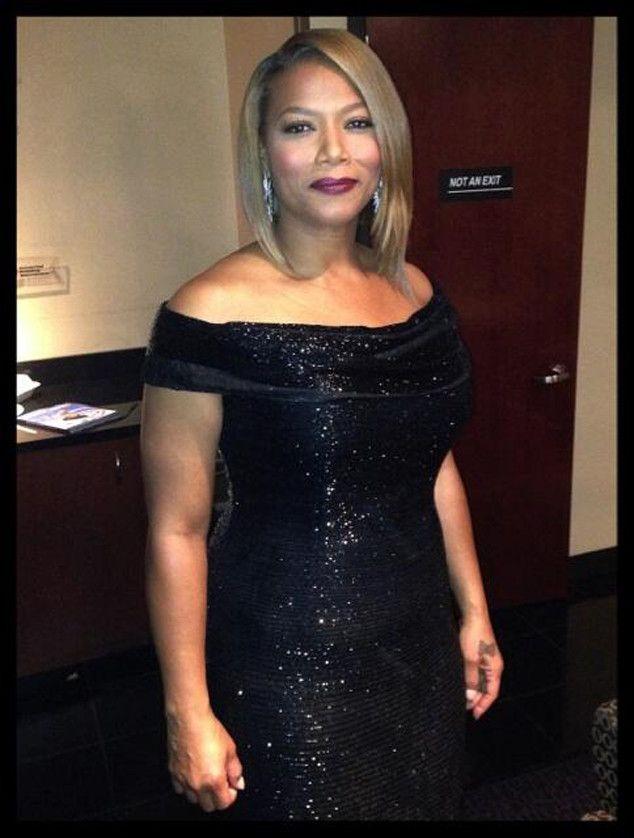 Queen Latifah from 2014 Grammys  Twitpics  amp  Instagrams   E  OnlineQueen Latifah 2014 Grammys