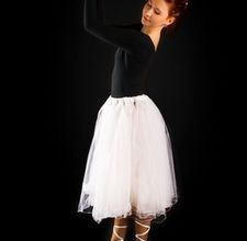 how to keep tulle in tutus from bunching