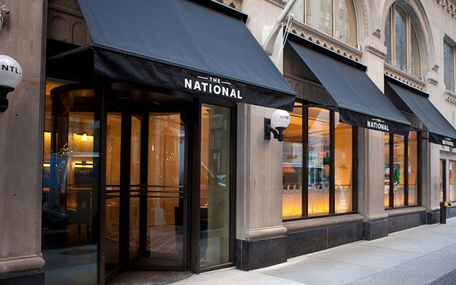 The National for drinks + supper (557 LEXINGTON AVE, AT 50TH ST)