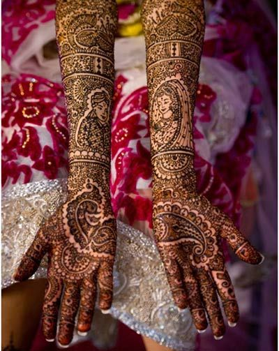 Raja Rani Bridal Mehndi Designs : Stunning mehndi designs for arms