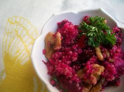 beet & quinoa salad | a li'l bit of this, a sprinkle of that.. | Pint...