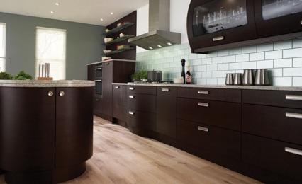 Black Kitchens Black Kitchen Dark Brown Cabinets Kitchen Filmesonline