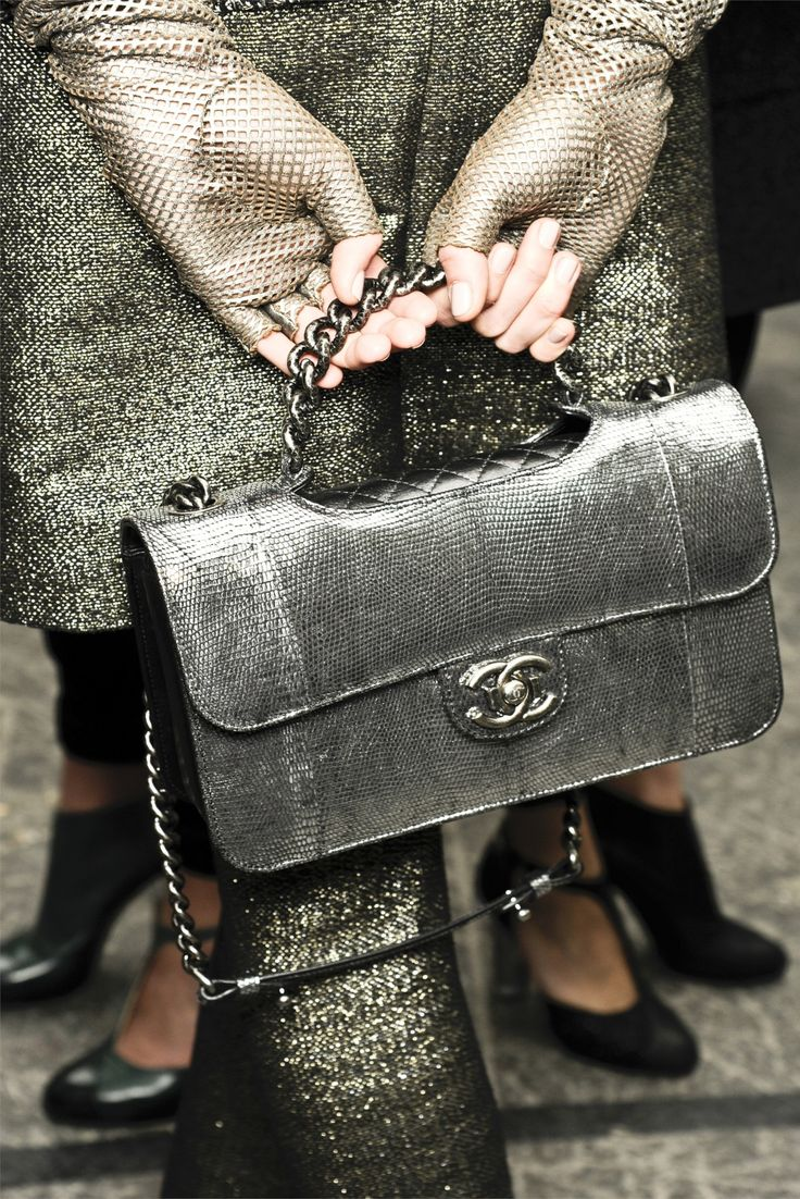 I'm in desperate need of Chanel... Chanel FW 2012