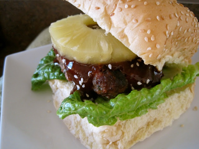 "Asian Turkey Burgers with ""Homemade"" Teriyaki BBQ Sauce-Made these ..."