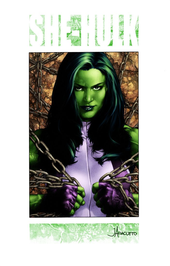 She-Hulk by Jay Anacleto | Comic Art: She-Hulk | Pinterest