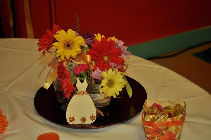 Bridal shower fall centerpiece party ideas pinterest