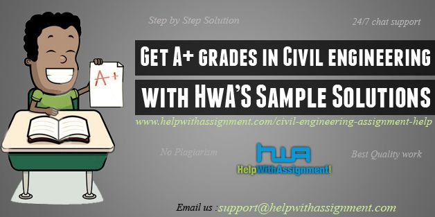 Civil Engineering Assignment Help | Civil Engineering Homework Help