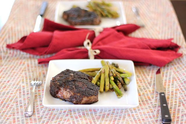 The Lucky Penny Blog: Coffee Rubbed Steak (Bobby Flay copy cat)
