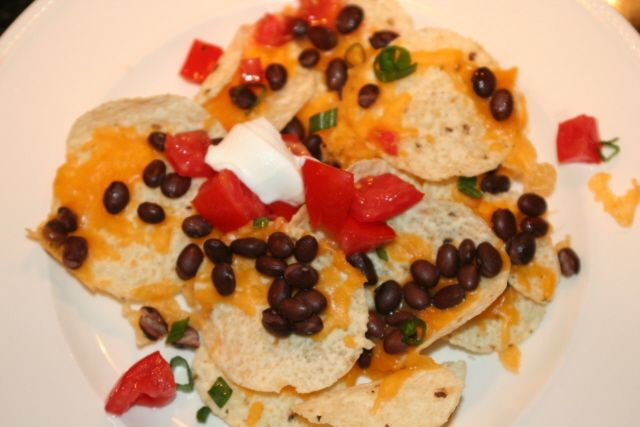 Love these black bean nachos. Add whatever you like to make it your ...