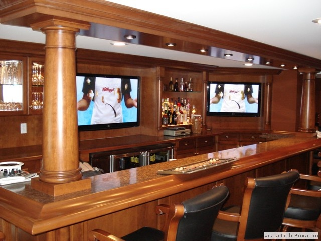 gallery for basement sports bar ideas