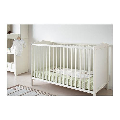 Picture idea 27  Hensvik crib ikea the bed base can be placed at two