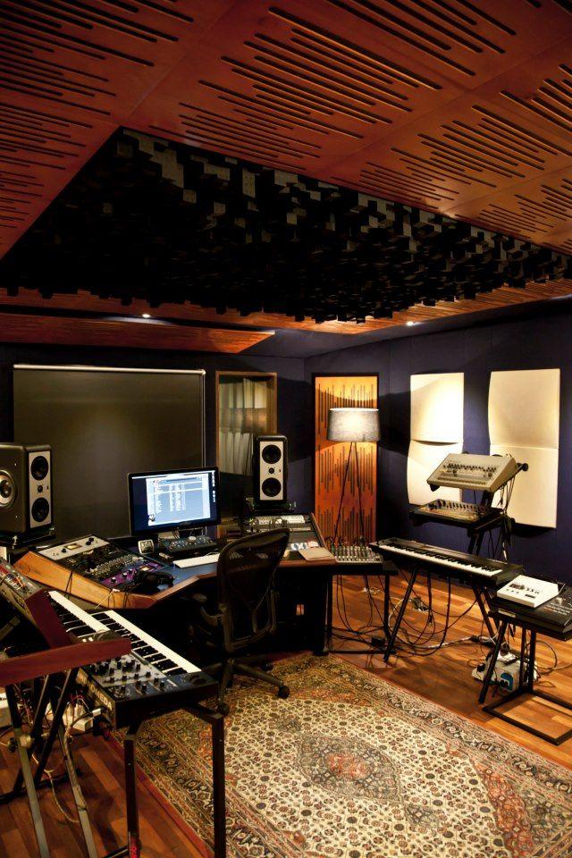 Cool recording studio designs joy studio design gallery for Home studio plans