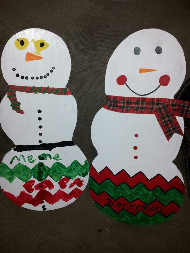 Snowman project | crafts | Pinterest