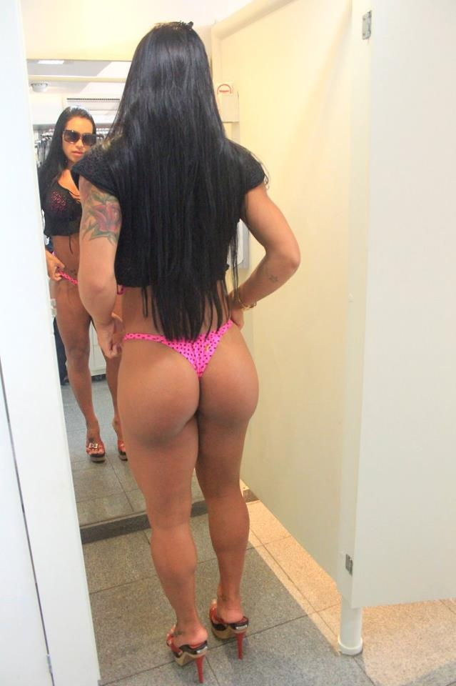 Fit Ass In A Thong