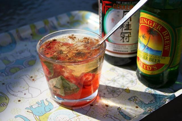 Tasty summer sake cocktail. | Happy Hour | Pinterest