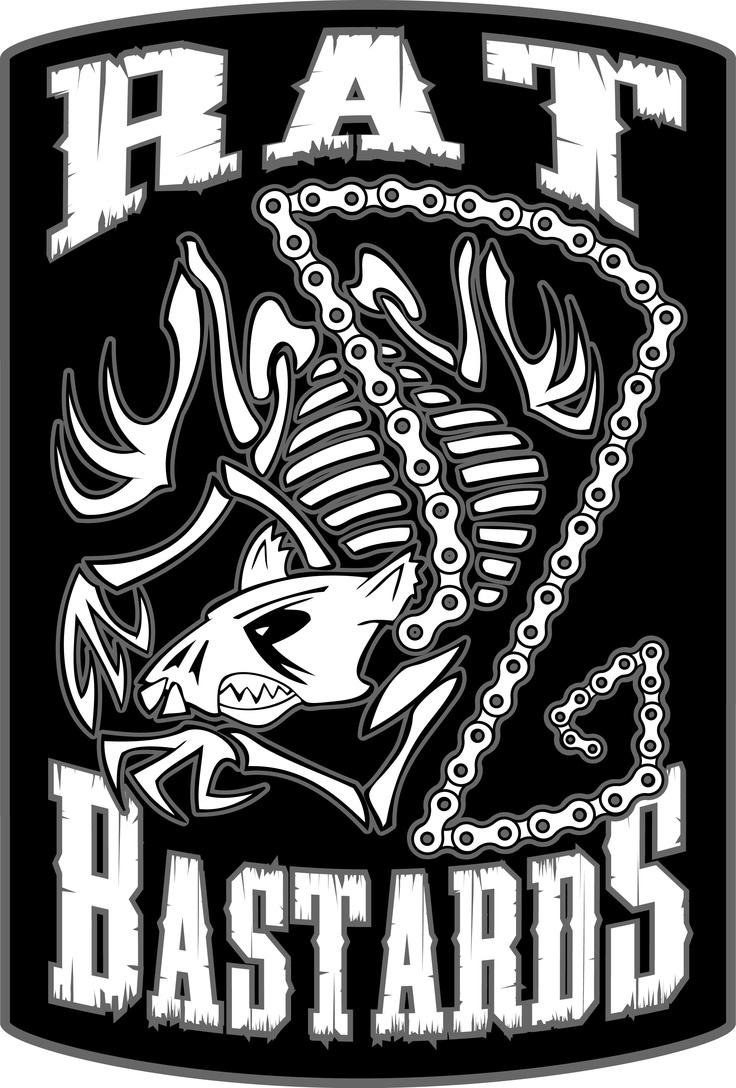 Company logo rat bastards custom fabrication pinterest
