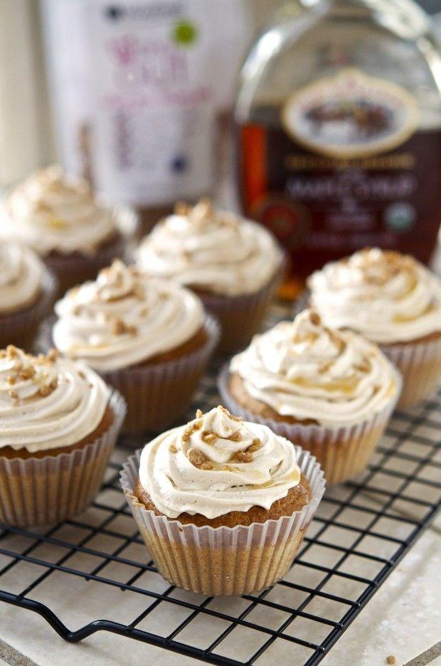 Veganized: Maple Bacon Cupcakes Recipe on @Vegan Cuts (@vegancuts) YUM