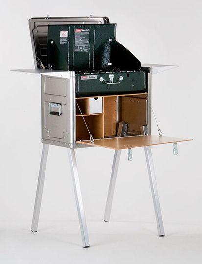 nice stove set up!