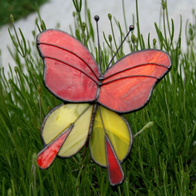 Butterfly yard ornaments3 outdoor decorations pinterest for Outdoor butterfly ornaments
