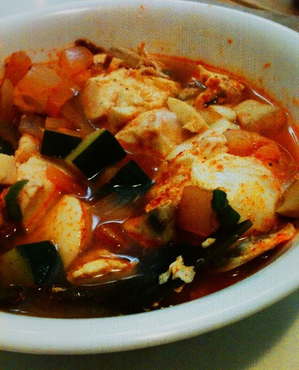 Korean Soondubu Jjigae (Soft Tofu Stew) Recipe — Dishmaps