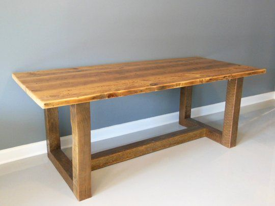 reclaimed handmade wood dining table makers you should know about