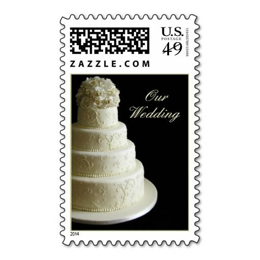 Cream Wedding Cake Stamps In Each Seller Make Purchase Online For
