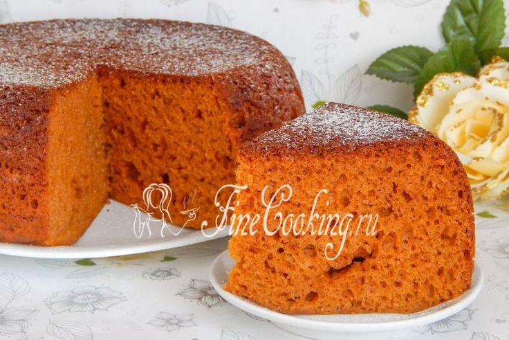 Пирог бисквит в мультиварке рецепты с фото