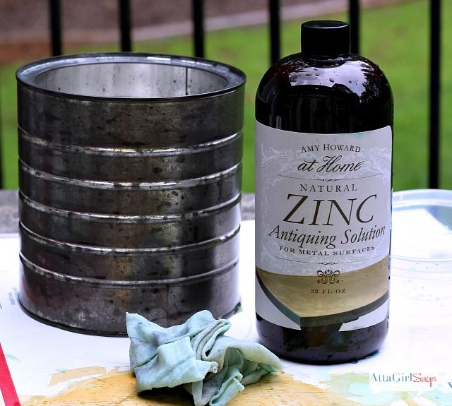 mason jar lamp with faux zinc shade. Black Bedroom Furniture Sets. Home Design Ideas