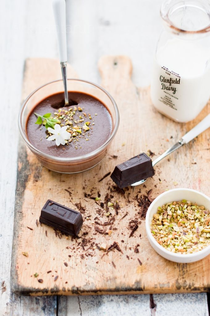 pots de creme au chocolate