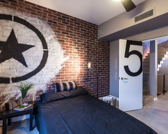 Cool Basement Bedrooms And Another Room Designs Ideas Awesome Brick