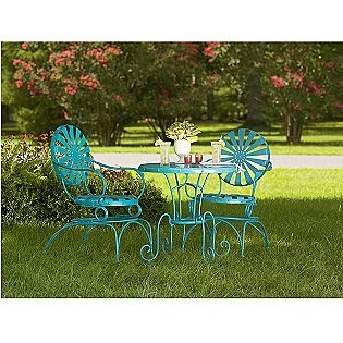Turquoise patio furniture I want this