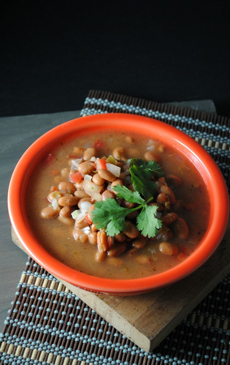 Simmered Pinto Beans recipe from Sweet Life (made with canned pintos ...