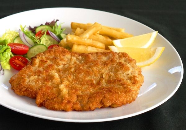 Pork schnitzel julie goodwin recipes pinterest