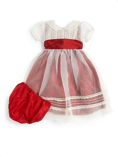 infant holiday dress