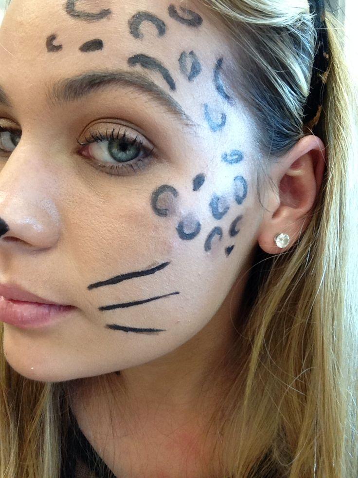 Cheetah Makeup Face Painting