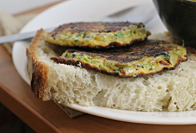 Recipe: Kabocha French Lentil Soup and Zucchini Fritters