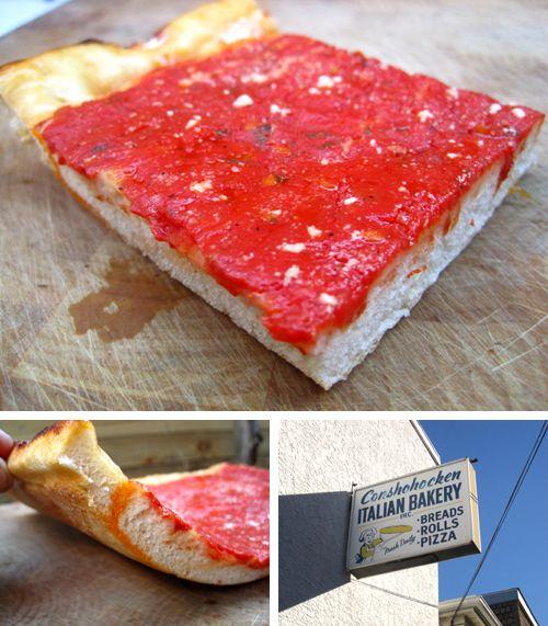 style pizza homemade philadelphia tomato pie style pizza recipes style ...