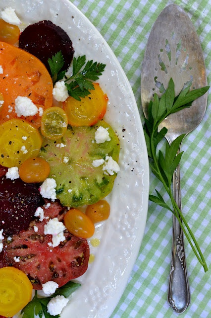 Tomato and Beet Summer Salad | The View From Great Island | Pinterest