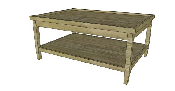Coffee Table Free Coffee Table Plans Pinterest