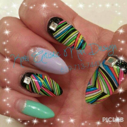 Artistic Nail Design 619-713-7443 | Japanese 3D Design Nail、Nai