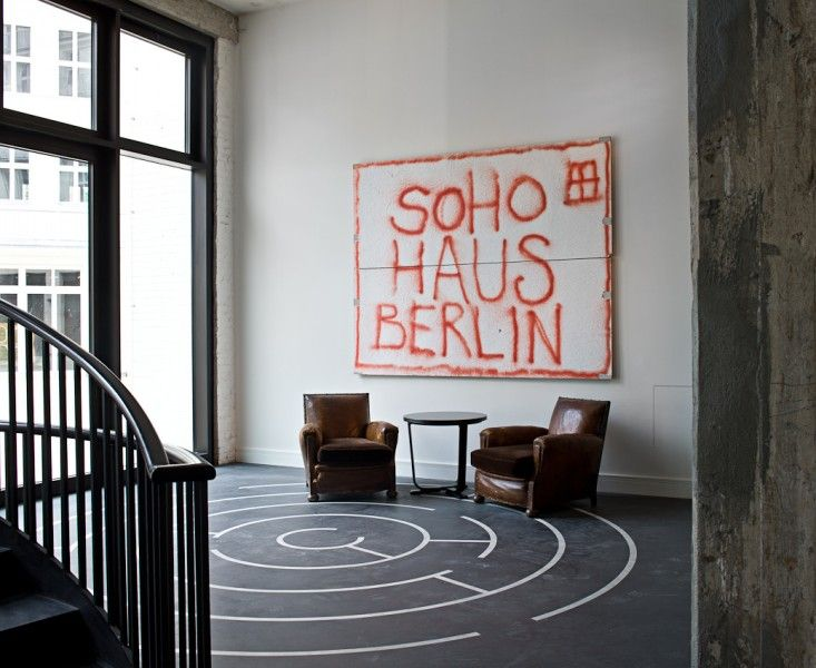 Soho House Graffiti in Berlin, Germany | Remodelista