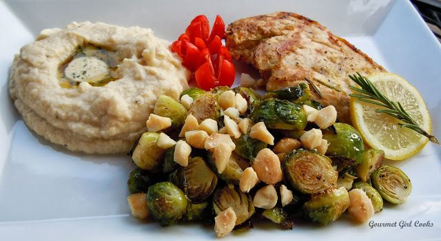 Gourmet Girl Cooks: Grilled Lemon Rosemary Chicken & Macadamia Roasted ...