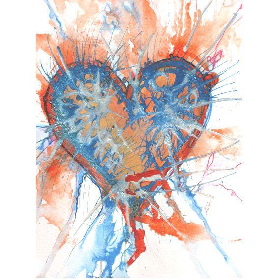 valentine's day heart art