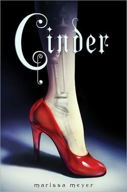 Cinder (The Lunar Chronicles Series #1) ..If you want a crazy twist on some well known Fairy Tales then read this series. I have Loved them!